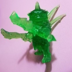 Free 3D model Goblin leader, Darklord_Sengir