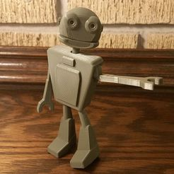 Download free 3D printer templates Jointed robot, wolfdog