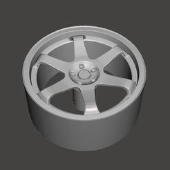 Télécharger fichier impression 3D JANTE de voiture miniature, BertrandW
