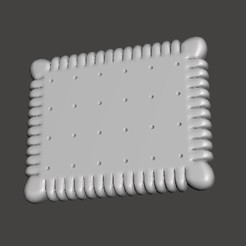 PETIT-BEURRE.jpg Download STL file SMALL BUTTER • Object to 3D print, BertrandW