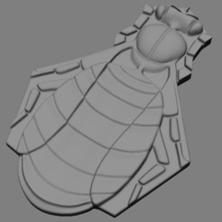 abeille.jpg Télécharger fichier STL Abeille en relief • Plan pour impression 3D, BertrandW