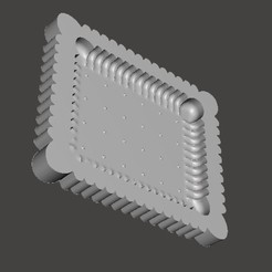 MOULE-PETIT-BEURRE.jpg Download STL file SMALL BUTTER MOULD • 3D printer object, BertrandW
