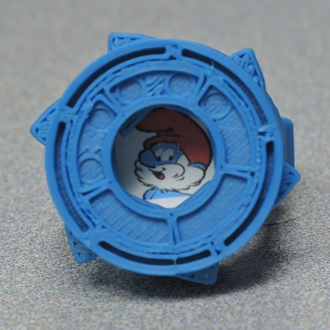 Papa_cr.jpg Download free STL file Hidden Symbol Iris Ring • 3D printer model, potentprintables
