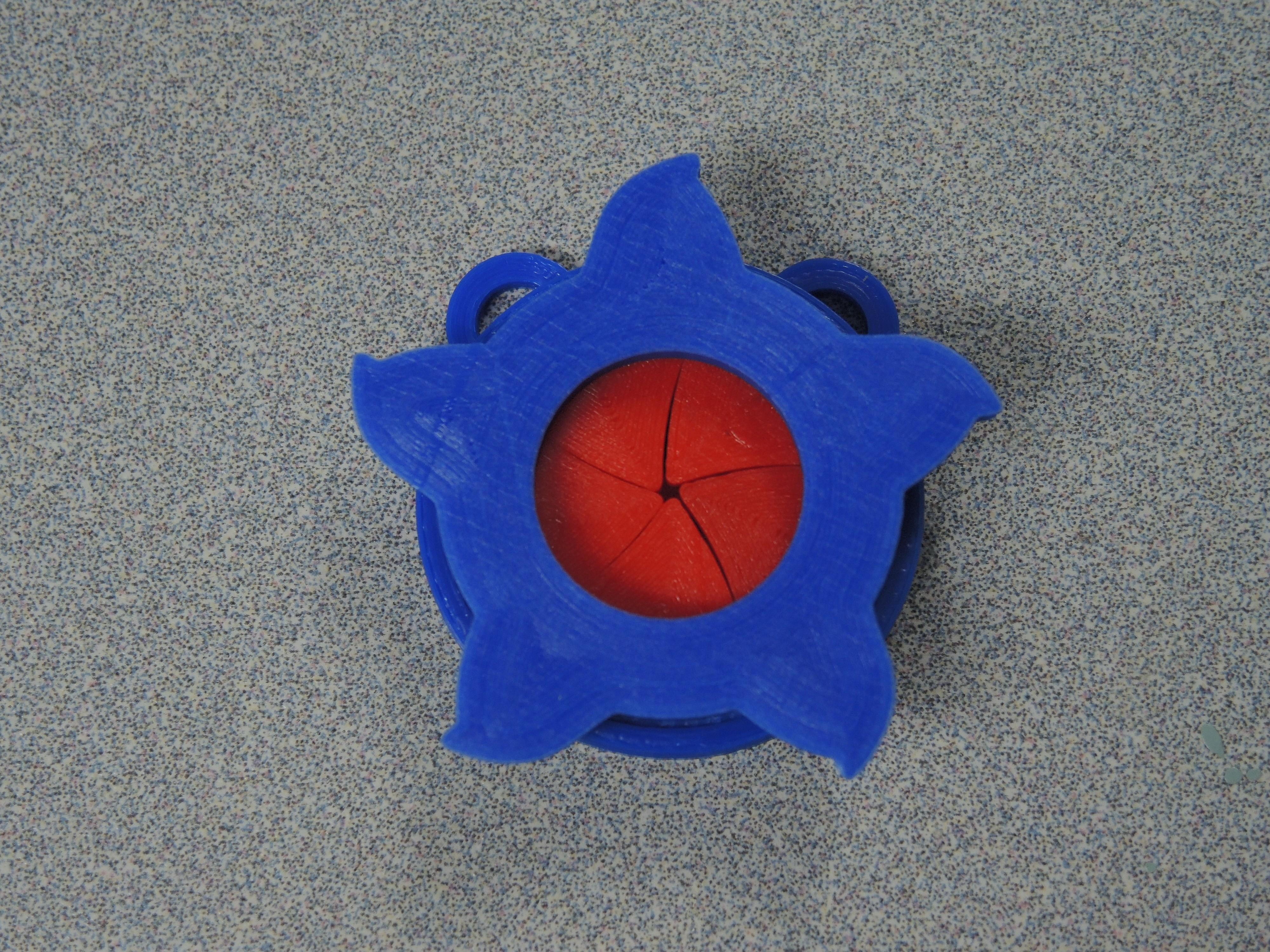 Hoff, Closed Iris.JPG Télécharger fichier STL gratuit Pendentif Iris • Design pour impression 3D, potentprintables