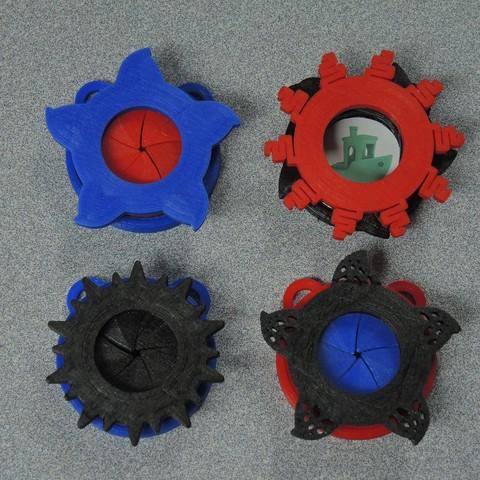 Free stl Iris Pendant, potentprintables
