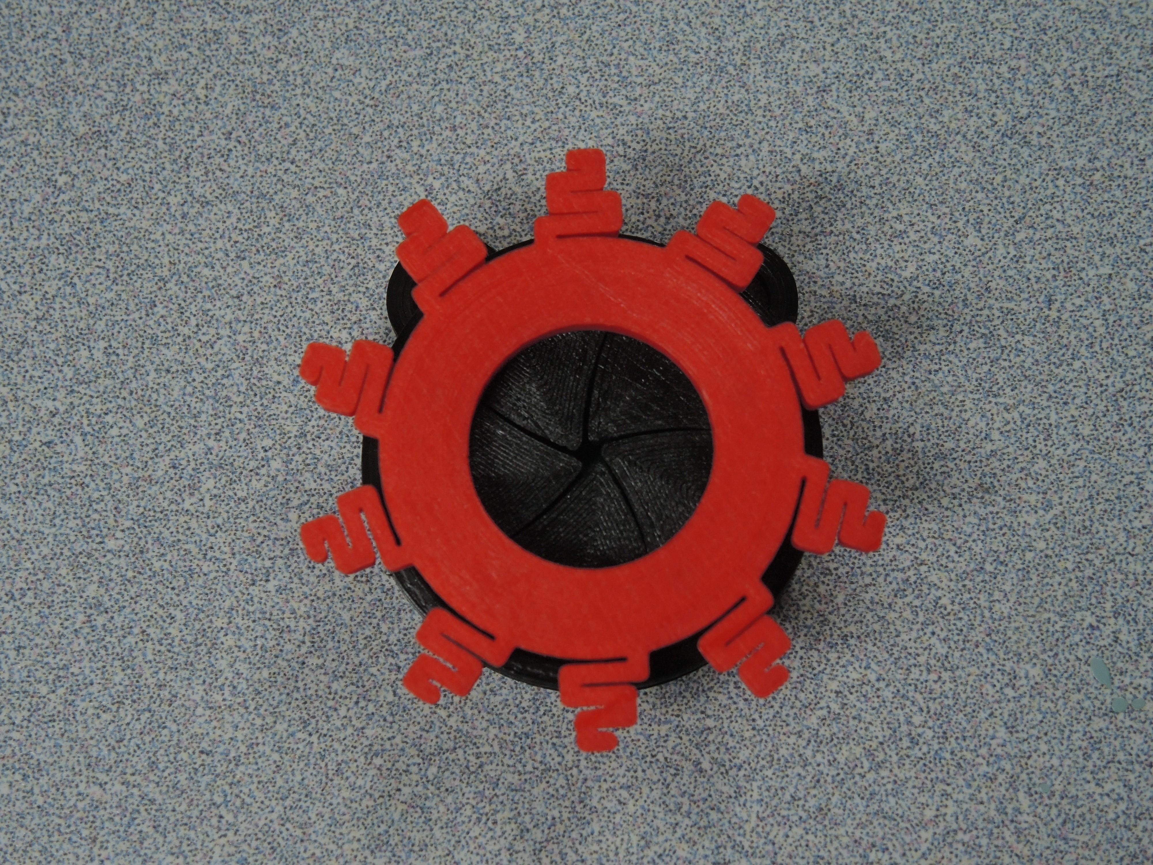 Benchy, Closed Iris.JPG Télécharger fichier STL gratuit Pendentif Iris • Design pour impression 3D, potentprintables