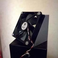 Descargar modelo 3D gratis 12cm conducto del ventilador universal (30deg), necobut