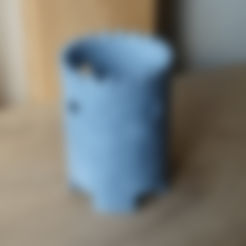 Descargar Modelos 3D para imprimir gratis Ruinas Macetero 2, necobut