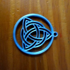 stl file I said Celtic Triqueta, gabytech19
