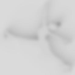 STL file artistic skater keychain, gabytech19