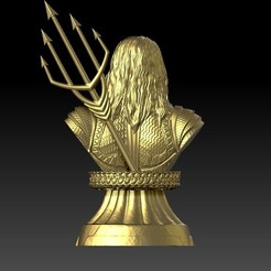 3d printer model Aquaman Bust, guhenris