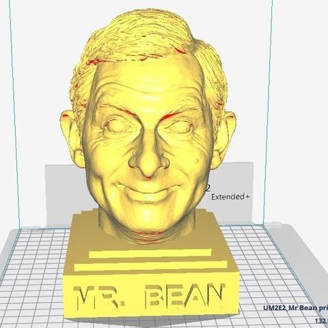 STL file Mister Bean sculpture, MarcArt