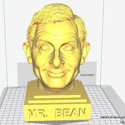 STL file Mister Bean sculpture, MarcArt