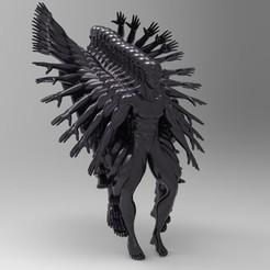 Download 3D printing templates Jumping Man, MarcArt