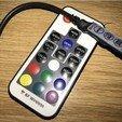 Imprimir en 3D gratis Luz ambiental portátil LED Powerbank, vmi