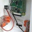 Free STL Raspberry Pi Zero Security Infrarot Camera Plug / Socket, vmi