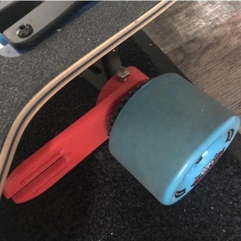 Free 3D printer designs Electronic Longboard Brushless Motor Mount, vmi