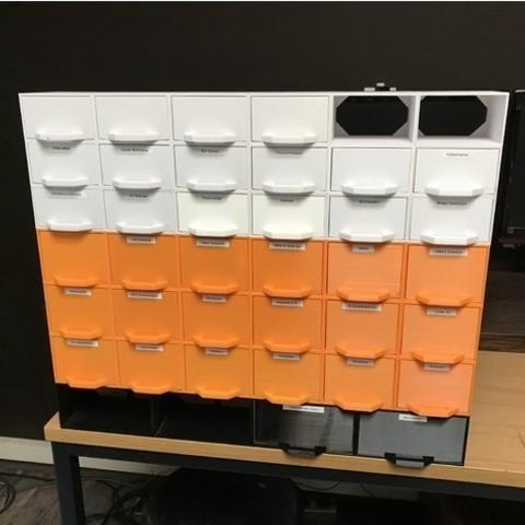 54578611656798245210940077c32ced_preview_featured-10.jpg Télécharger fichier STL gratuit Support de système de stockage multi-box • Modèle pour imprimante 3D, vmi