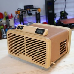 stl Retro Air Cooler - Aire acondicionado retro gratis, govaju