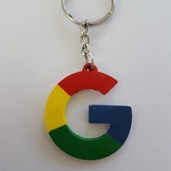 Descargar archivos STL gratis Llavero google, f1l2o30