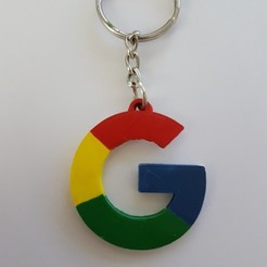 Free STL Keychain google, florianw354