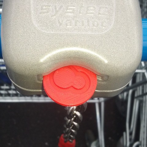 Free #MAGIGOO shopping cart token STL file, florianw354