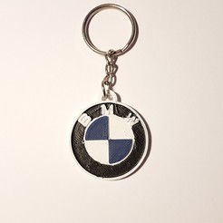 Free 3D printer designs BMW key ring, f1l2o30