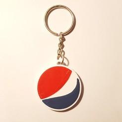 Free 3D printer model Pepsi key ring, florianw354