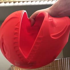 Download free 3D printing designs Power ranger red headset, parsellrick