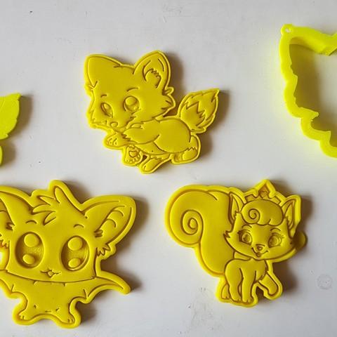 20180828_135811.jpg Download STL file Cute Fox Cookie Cutter • 3D printer template, 3dfactory