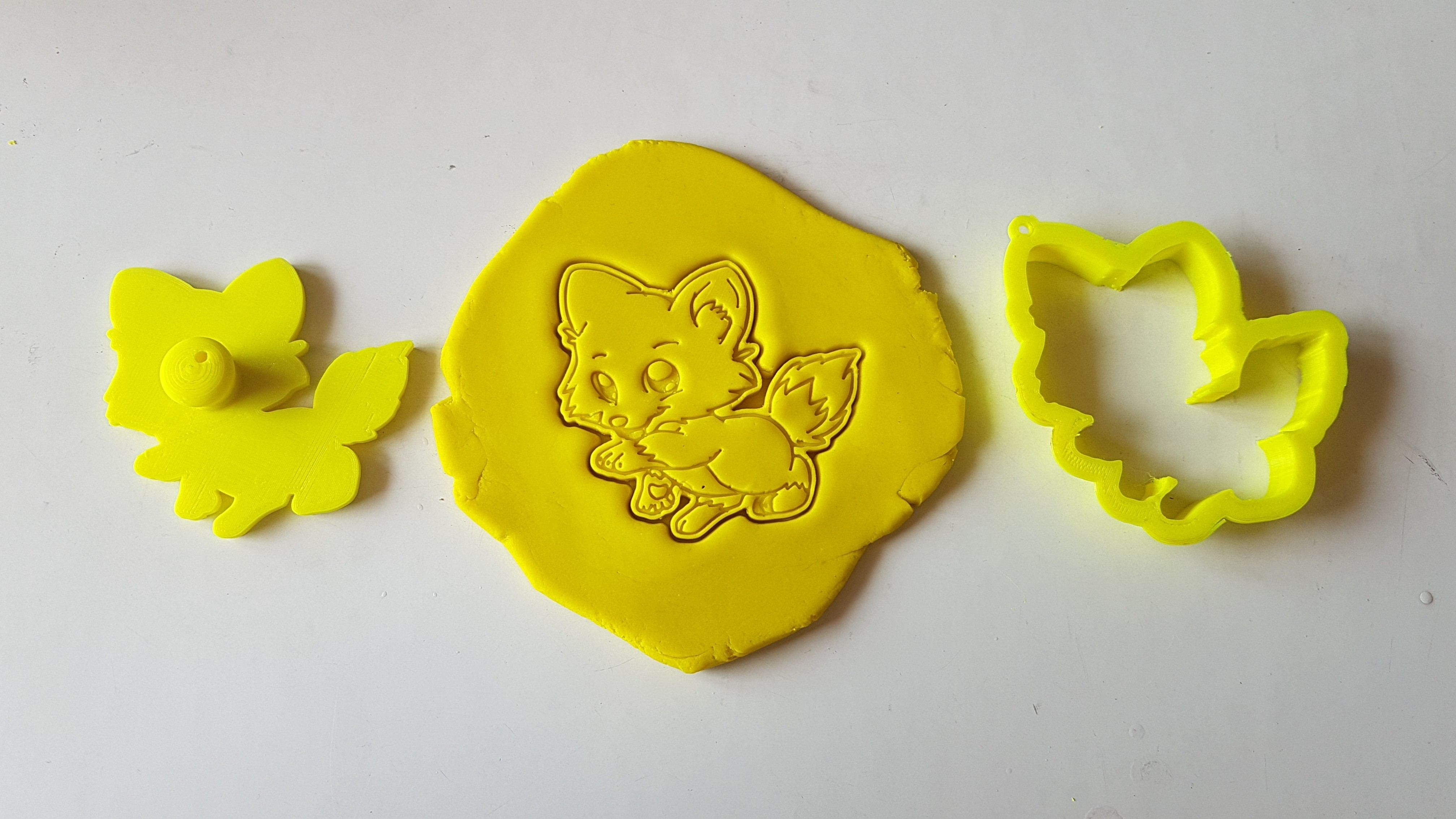 20180828_135736.jpg Download STL file Cute Fox Cookie Cutter • 3D printer template, 3dfactory