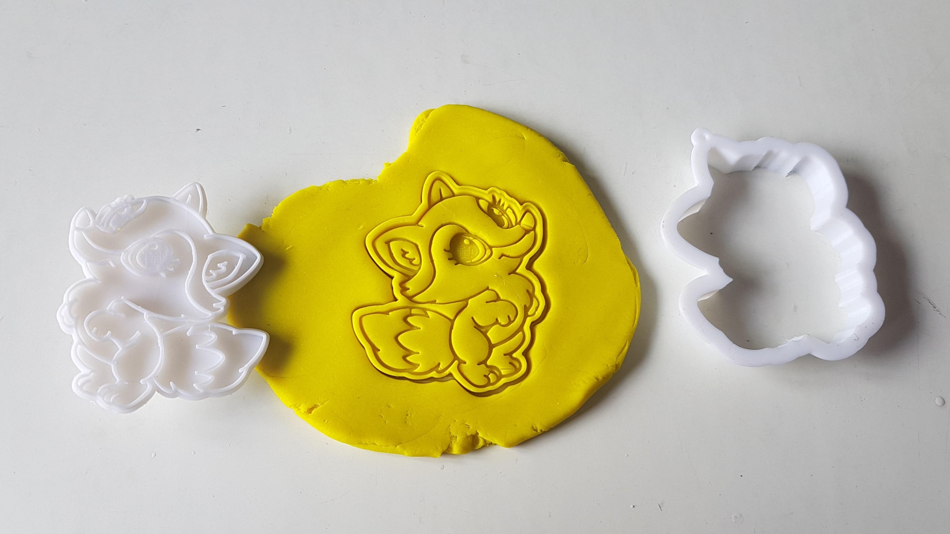 20180829_142154.jpg Download STL file Lady fox cookie cutter • 3D print model, 3dfactory