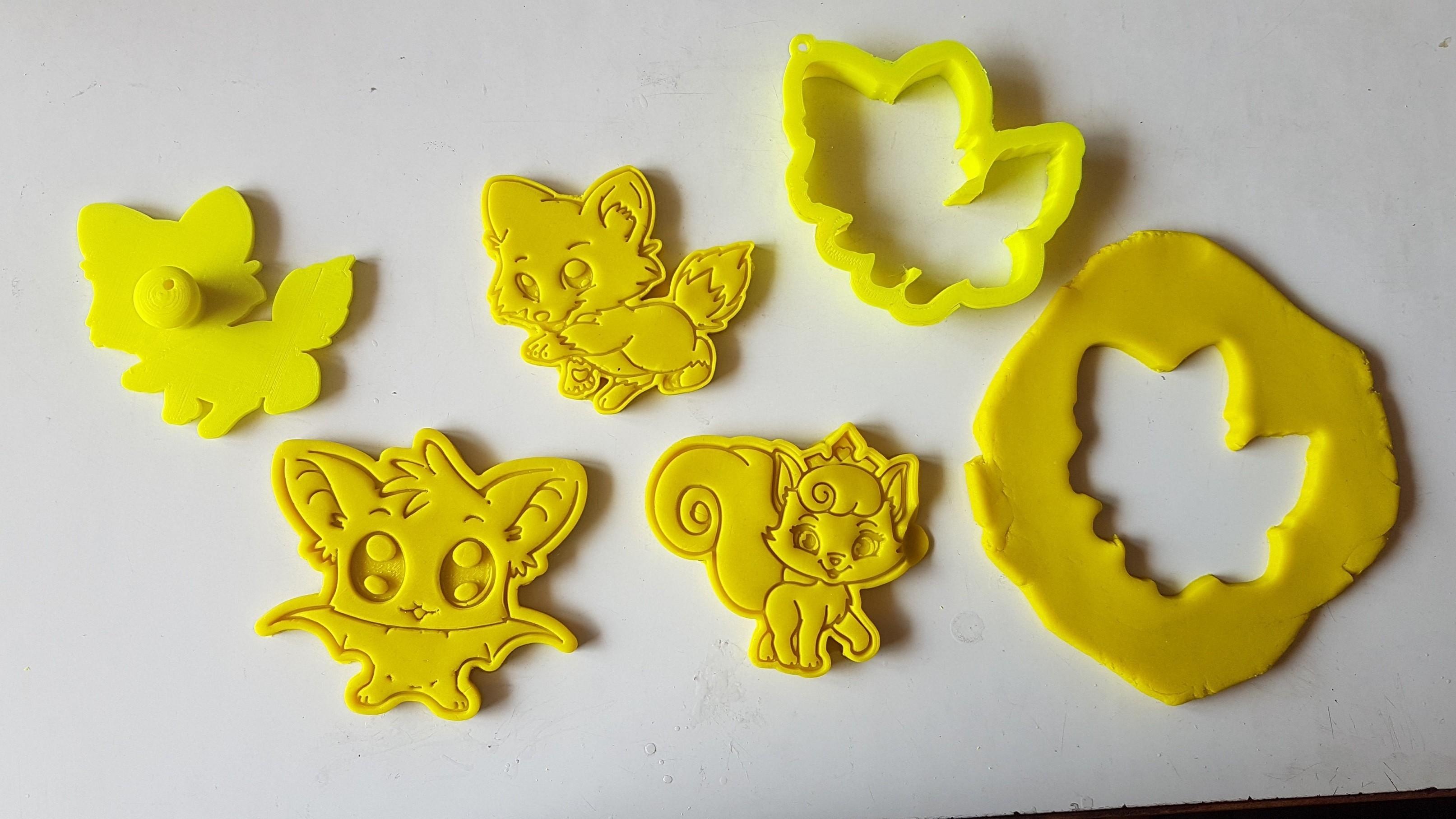 20180828_135821.jpg Download STL file Cute Fox Cookie Cutter • 3D printer template, 3dfactory