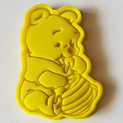 3d model Cute Pooh Cookie Cutter, 3dfactory
