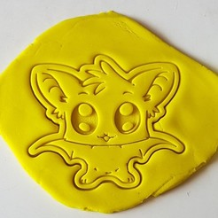 3d print files Baby Bat Cookie Cutter, 3dfactory