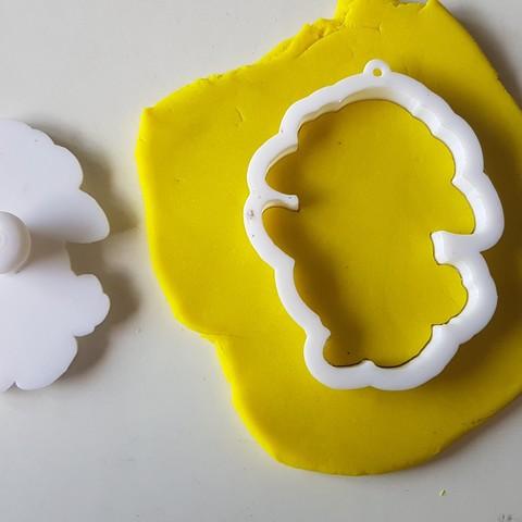20180829_141256.jpg Download STL file Baby sheep cookie cutter • 3D printable design, 3dfactory