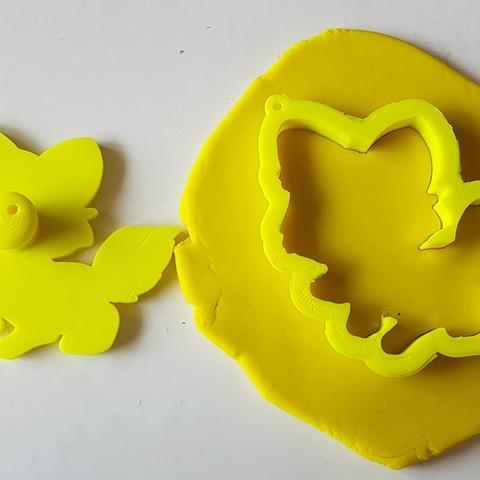 20180828_135704.jpg Download STL file Cute Fox Cookie Cutter • 3D printer template, 3dfactory