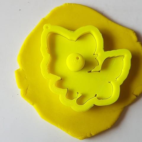 20180828_135718.jpg Download STL file Cute Fox Cookie Cutter • 3D printer template, 3dfactory