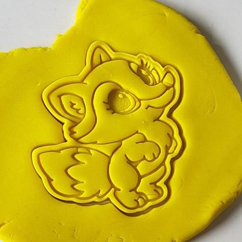 7.jpg Download STL file Lady fox cookie cutter • 3D print model, 3dfactory
