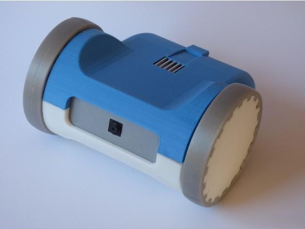c200276c9a8a68e2538f83dc438e61f1_preview_featured.jpg Télécharger fichier STL gratuit ZeroBot - Raspberry Pi Zero FPV Robot • Design à imprimer en 3D, MaxMKA