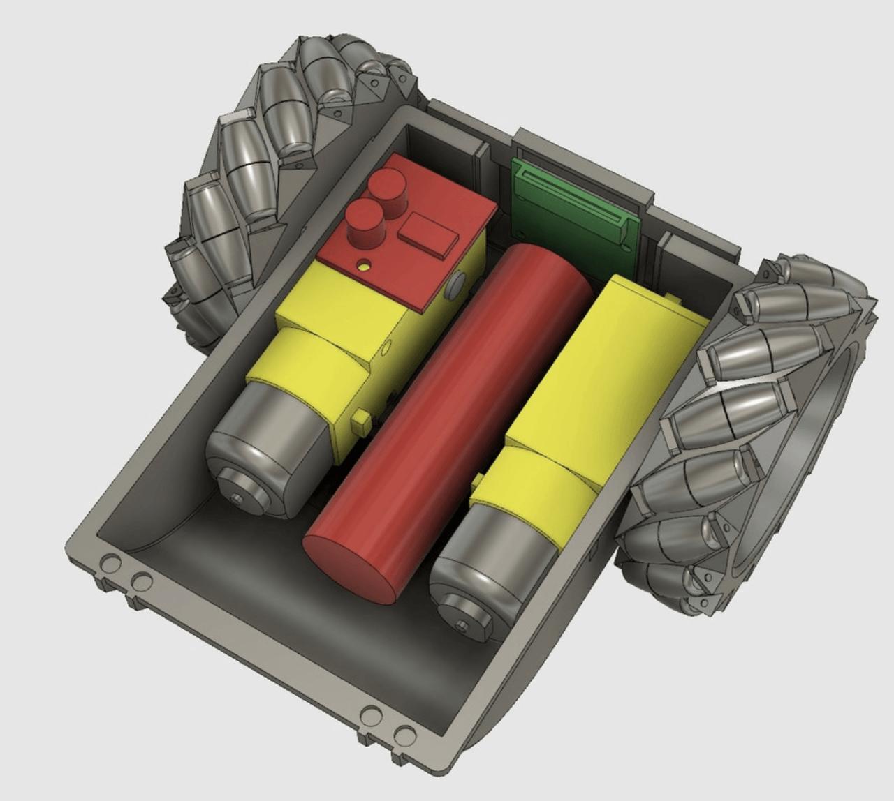 Capture d'écran 2018-04-25 à 09.48.27.png Download free STL file Twitch Drone Chassis for ZeroBot • 3D printable template, MaxMKA