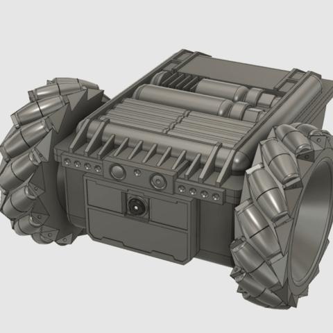 Capture d'écran 2018-04-25 à 09.48.23.png Download free STL file Twitch Drone Chassis for ZeroBot • 3D printable template, MaxMKA