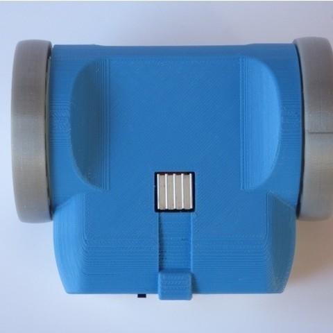 4ea99eda2cb2b528e545cfb398028c55_preview_featured.jpg Télécharger fichier STL gratuit ZeroBot - Raspberry Pi Zero FPV Robot • Design à imprimer en 3D, MaxMKA