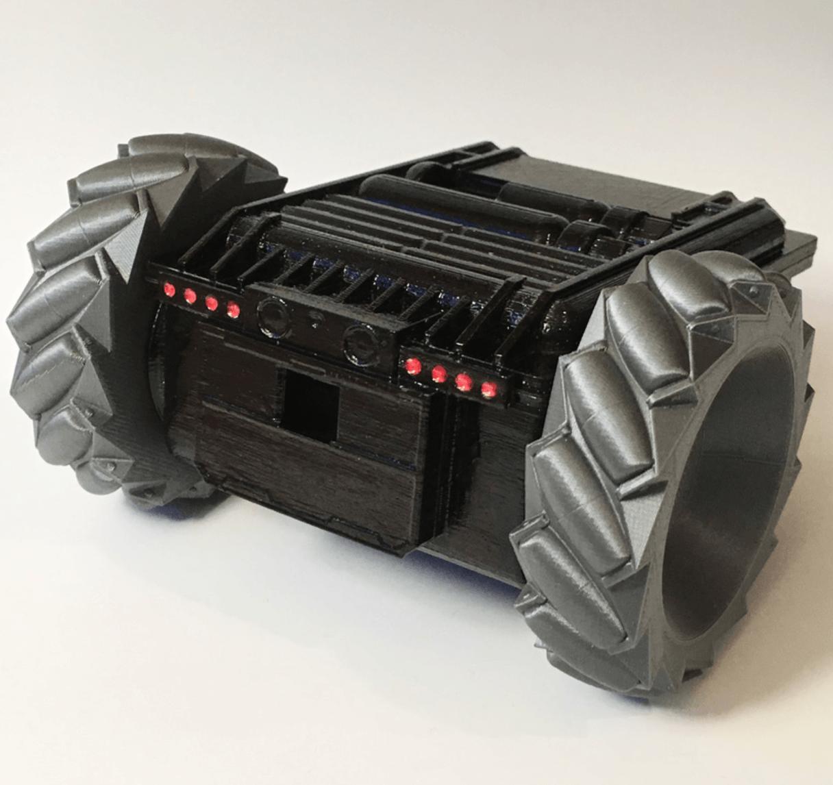 Capture d'écran 2018-04-25 à 09.48.05.png Download free STL file Twitch Drone Chassis for ZeroBot • 3D printable template, MaxMKA