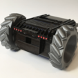 Free STL Twitch Drone Chassis for ZeroBot, MaxMKA