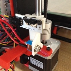 Download free 3D printing files Prusa i3 Hepestos Z Axis Endstop, MaxMKA