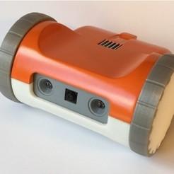 Télécharger fichier impression 3D gratuit ZeroBot Pro - Robot FPV Raspberry, MaxMKA