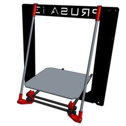 Download free STL files Prusa i3 frame reinforcement, MaxMKA