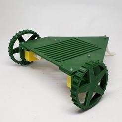 Descargar modelo 3D gratis Robot en kit Rovy2W para motor de corriente continua FIT0016, AranaCorp