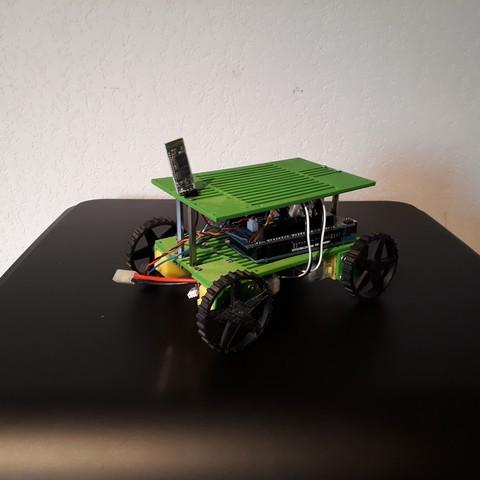 rovy-ttgearmotor6v-elec.jpg Download free STL file Rovy mobile robot for Geared Motor 6v • 3D printable object, AranaCorp